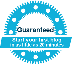 start your first blog