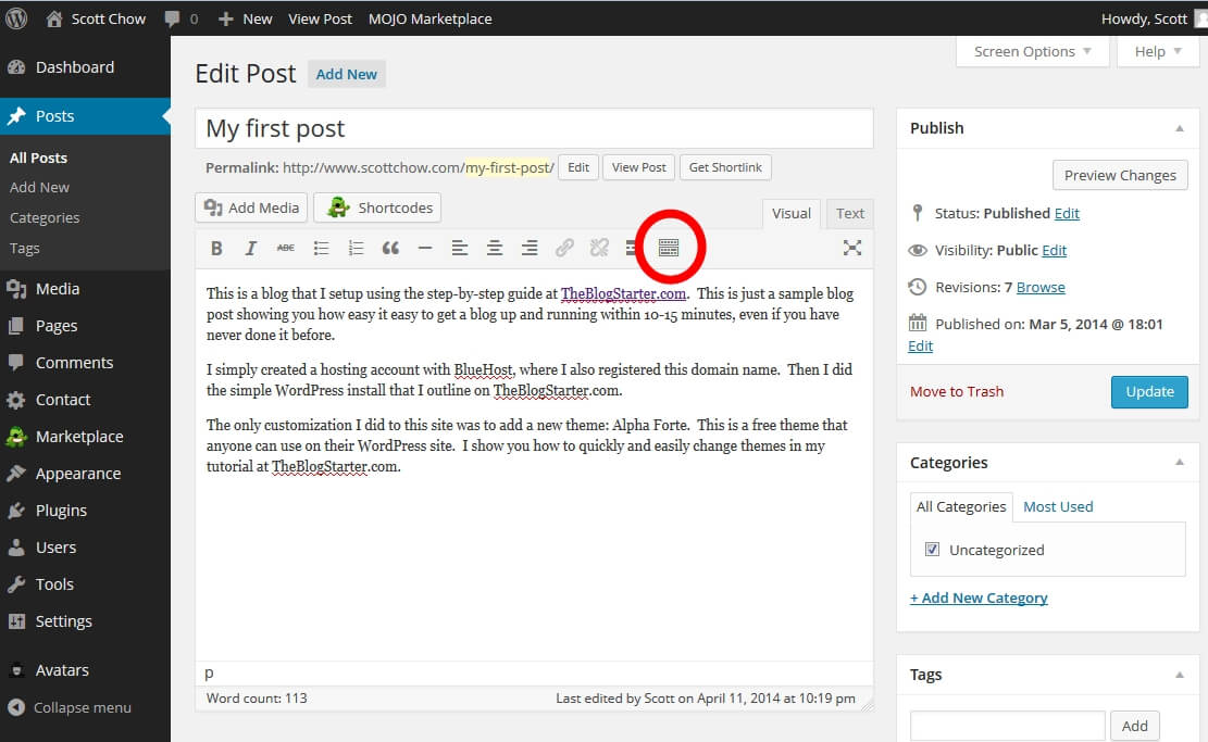 How to Change Your Text Size and Color in WordPress · The Blog Starter
