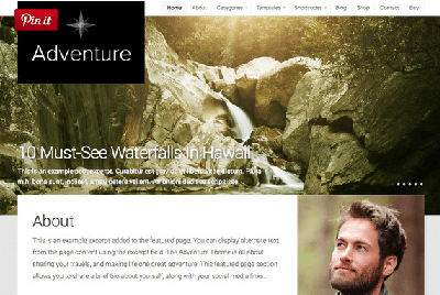 путешествия-блоггинг тема приключение
